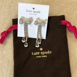 NWT Kate Spade pearly glow earrings.